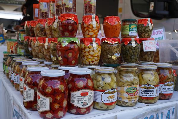 Italian food market