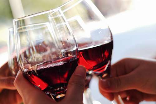 Toasting travel with Italian red wine