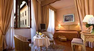 Hotel Pierre Room in Florence for All Inclusive Package