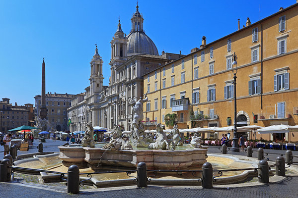 Piazza in Roma